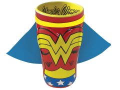 DC Comics Wonder Woman Caped Molded Pint Glass