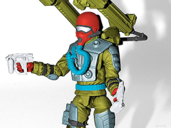 G.I. Joe Fast Draw Subscription Figure 8.0