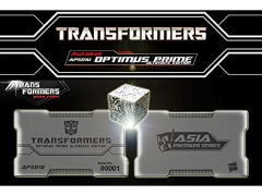 Transformers APS-01U Asia Premium Series Exclusive AllSpark Cube & Metal Card