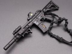 HK416 Assault Rifle (C) 1/6 Scale Weapon Set