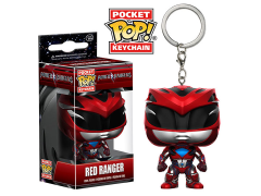 Pocket Pop! Keychain Power Rangers - Red Ranger
