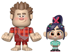 Ralph Breaks the Internet Vynl. Wreck-It Ralph + Vanellope