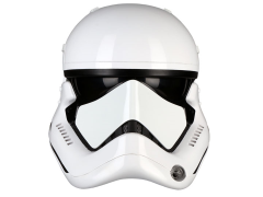 Star Wars First Order Stormtrooper (The Last Jedi) 1:1 Scale Wearable Helmet (Upgraded)