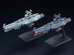 Space Battleship Yamato Mecha Collection Yamanami Fleet & Mars Defense Line Model Kit Two-Pack