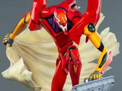Evangelion EVA Unit-02 (First Appearance) Limited Edition Statue