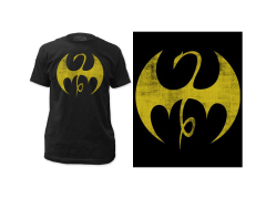 Marvel Iron Fist Distressed Logo T-Shirt