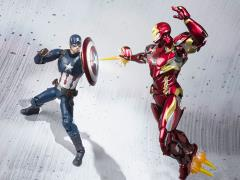 Captain America: Civil War S.H.Figuarts Captain America & Iron Man Mark XLVI Two Pack Exclusive
