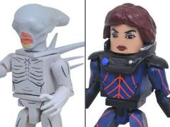 Alien: Covenant Minimates Shaw & Neomorph Two-Pack