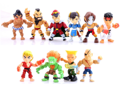 Street Fighter Action Vinyls Wave 1 Box of 16 Figures