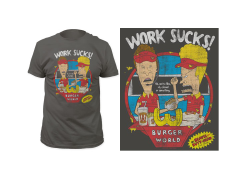 Beavis & Butt-Head Work Sucks T-Shirt