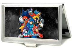 Mega Man Group Business Card Holder