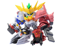 Gundam Build Divers Mini-Pla Super Shock Gundam Box of 10 Model Kits