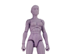 Vitruvian H.A.C.K.S. Female Figure Blank (Python Purple)