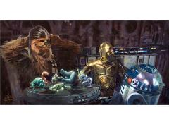 Star Wars Let the Wookiee Win Giclee (A New Hope)