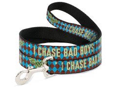 "DC Comics Wonder Woman ""I Chase Bad Boys"" Dog Leash"