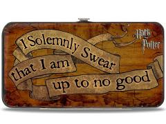 "Harry Potter ""I Solemnly Swear..."" Hinged Wallet"