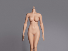 Hot Stuff 1/6 Scale Female Plump Body 3rd Generation (Pale Cone Joint)
