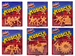 Masters of The Universe M.U.S.C.L.E. Wave 3 Set of 6