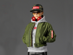 Street Style Flight Jacket (Women's) 1/6 Scale Accessory Set