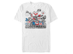 Nintendo Super Mario Color Squad T-Shirt