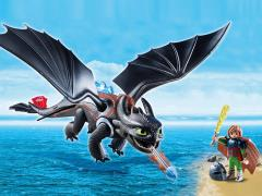 DreamWorks Dragons Playmobil Playset - Hiccup & Toothless