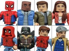 Marvel Minimates Wave 73 Spider-Man: Homecoming Two Pack Set of 4