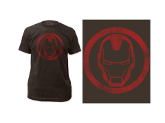 Marvel Iron Man Distressed Icon T-Shirt
