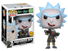 Pop! Animation: Rick & Morty - Weaponized Rick (Chase)
