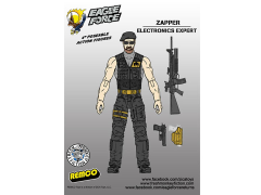 "Eagle Force 4"" Action Figure Series 01 - Zapper"