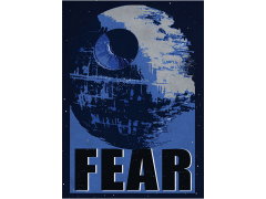 Star Wars Galactic Propaganda Fear Displate Metal Print