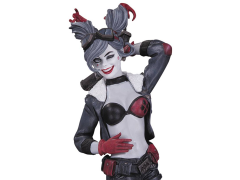 DC Comics Harley Quinn Red White & Black Statue