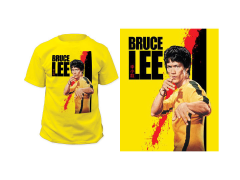 Bruce Lee Blood T-Shirt