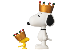 Peanuts Ultra Detail Figure No.357 Crown Snoopy & Woodstock Set