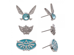 The Legend of Zelda Earrings Three-Pack