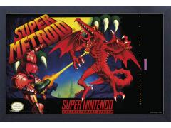 Super Metroid Framed Art Print