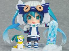 Vocaloid Nendoroid No.570 Yuki Miku Snow Owl (Wonder Fest 2016) Exclusive