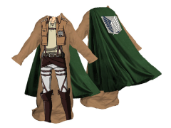 Attack on Titan Eren Fleece Cozy