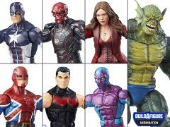 Captain America: Civil War Marvel Legends Wave 3 Set of 6 (Abomination BAF)