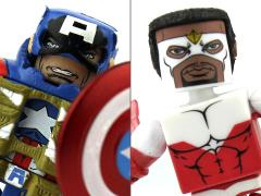 Marvel Minimates TRU Wave 18 - Fighting Chance Captain America & Marvel's Falcon