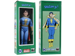 "DC World's Greatest Heroes Shazam Jr. Mego Style Boxed 8"" Figure"
