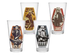Solo: A Star Wars Story Pint Glass Set of 4