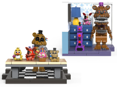Five Nights at Freddy's The Office Desk & Right Dresser With Door Small Construction Sets