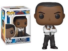 Pop! Marvel: Captain Marvel - Nick Fury