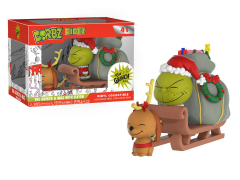 Dorbz Ridez: Dr. Seuss - The Grinch and Max on Sled