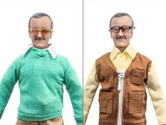"World's Greatest Heroes Stan Lee 8"" Retro Figure Set of 2"