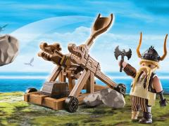DreamWorks Dragons Playmobil Playset - Gobber With Catapult