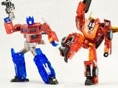 Transformers: Sons of Cybertron Henkei Classics Optimus Prime & Rodimus Exclusive