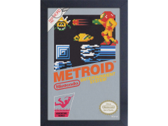 Metroid Cover Framed Art Print