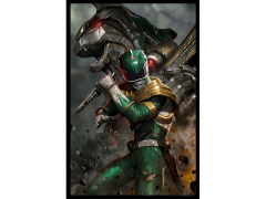 Mighty Morphin Power Rangers Green Ranger SDCC 2018 Exclusive Lithograph