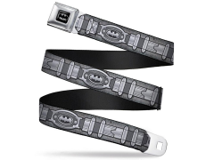 DC Comics Batman Utility Belt SeatBelt Buckle Belt